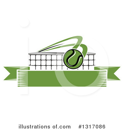 Tennis Clipart #1317086 by Vector Tradition SM