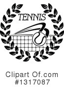 Tennis Clipart #1317087 by Vector Tradition SM