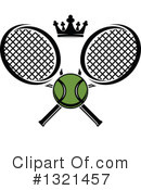 Tennis Clipart #1321457 by Vector Tradition SM