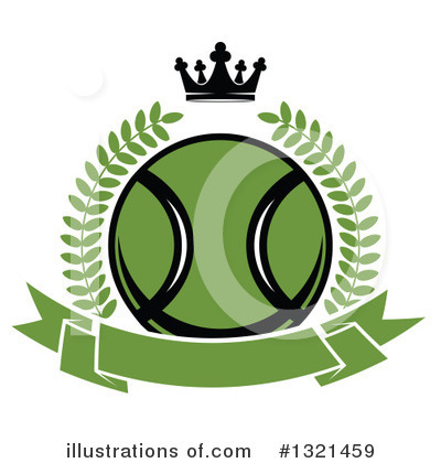 Royalty-Free (RF) Tennis Clipart Illustration by Vector Tradition SM - Stock Sample #1321459
