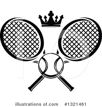Tennis Clipart #1321461 by Vector Tradition SM
