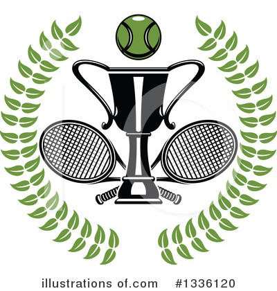 Tennis Clipart #1336120 by Vector Tradition SM