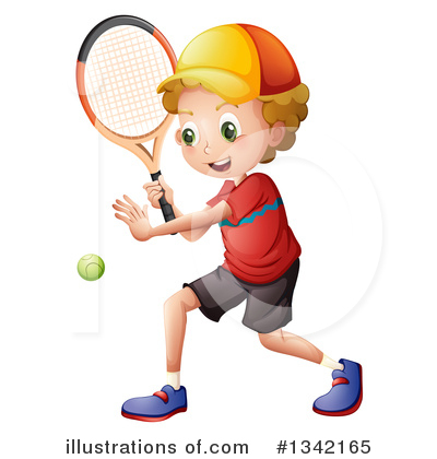 Tennis Clipart #1342165 by Graphics RF
