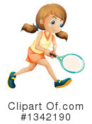 Tennis Clipart #1342190 by Graphics RF