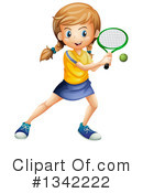 Tennis Clipart #1342222 by Graphics RF