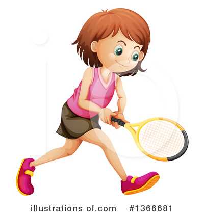Tennis Clipart #1366681 by Graphics RF