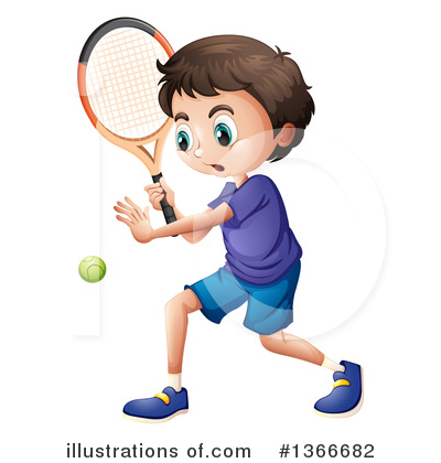 Tennis Clipart #1366682 by Graphics RF