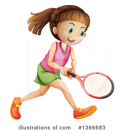 Tennis Clipart #1366683 by Graphics RF