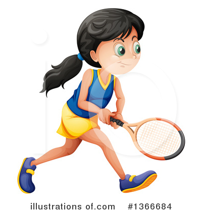 Tennis Clipart #1366684 by Graphics RF