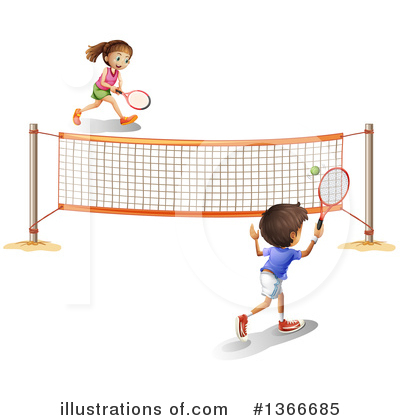 Tennis Clipart #1366685 by Graphics RF