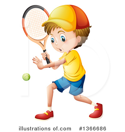 Tennis Clipart #1366686 by Graphics RF