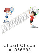 Tennis Clipart #1366688 by Graphics RF
