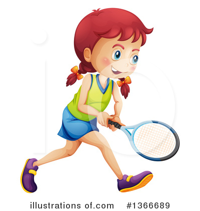 Tennis Clipart #1366689 by Graphics RF