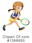 Tennis Clipart #1366690 by Graphics RF