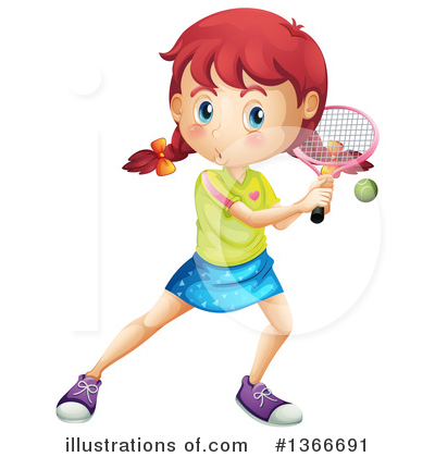 Tennis Clipart #1366691 by Graphics RF