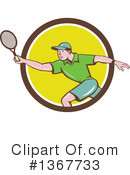 Royalty-Free (RF) Tennis Clipart Illustration #1367733