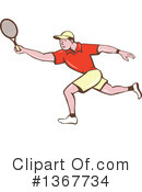 Tennis Clipart #1367734 by patrimonio