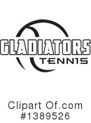 Tennis Clipart #1389526 by Johnny Sajem