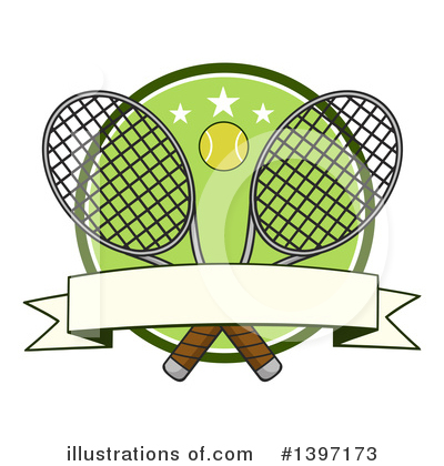 Tennis Ball Clipart #1397173 by Hit Toon