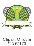 Tennis Clipart #1397173 by Hit Toon