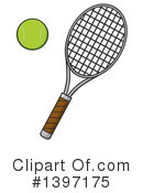 Tennis Clipart #1397175 by Hit Toon