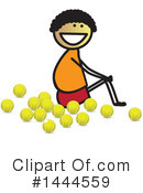 Tennis Clipart #1444559 by ColorMagic