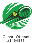 Tennis Clipart #1494883 by Vector Tradition SM
