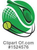 Tennis Clipart #1524576 by Vector Tradition SM
