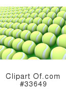 Royalty-Free (RF) Tennis Clipart Illustration #33649