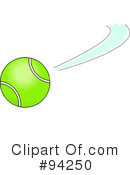 Royalty-Free (RF) Tennis Clipart Illustration #94250