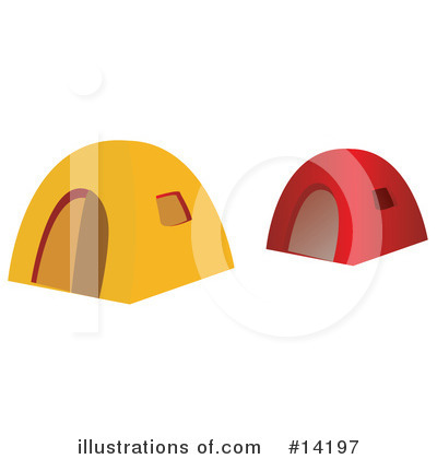 Camping Clipart #14197 by Rasmussen Images