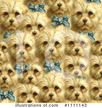 Royalty-Free (RF) Terrier Clipart Illustration by Prawny Vintage - Stock Sample #1111143