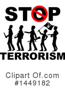 Terrorist Clipart #1449182 by Domenico Condello