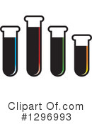 Royalty-Free (RF) Test Tube Clipart Illustration #1296993