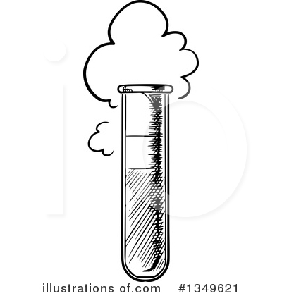 Test Tube Clipart #1349621 by Vector Tradition SM