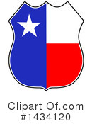 Texas Clipart #1434120 by LaffToon