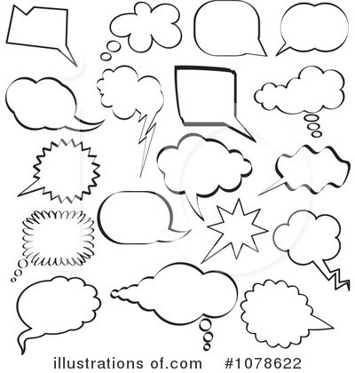 Chat Clipart #1078622 by KJ Pargeter