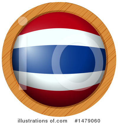 Thai Flag Clipart #1479060 by Graphics RF