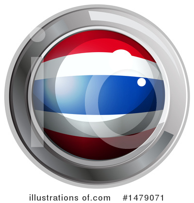 Thai Flag Clipart #1479071 by Graphics RF
