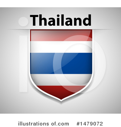 Thai Flag Clipart #1479072 by Graphics RF
