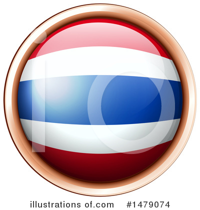 Thai Flag Clipart #1479074 by Graphics RF