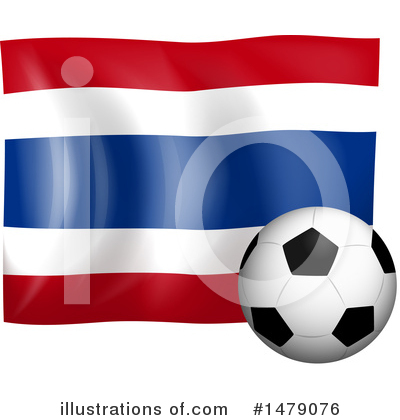 Thai Flag Clipart #1479076 by Graphics RF