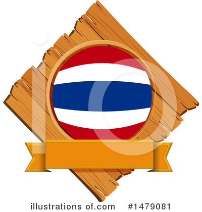 Thai Flag Clipart #1479081 by Graphics RF