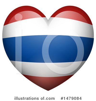 Thai Flag Clipart #1479084 by Graphics RF