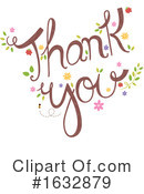 Thank You Clipart #1632879 by BNP Design Studio