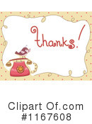 Royalty-Free (RF) Thanks Clipart Illustration #1167608