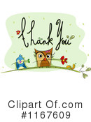 Royalty-Free (RF) Thanks Clipart Illustration #1167609