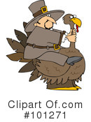 Royalty-Free (RF) Thanksgiving Clipart Illustration #101271