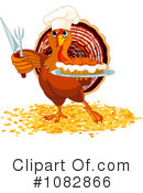 Royalty-Free (RF) Thanksgiving Clipart Illustration #1082866