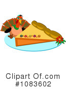 Royalty-Free (RF) Thanksgiving Clipart Illustration #1083602